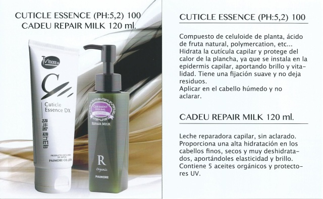 Cuticle essence - cadeu repair milk paimore